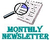 Monthly Newsletter Icon