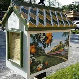 Little Free Library Downtown Trail