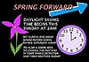 Spring Forward on March 8