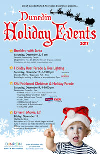 Holiday Events poster