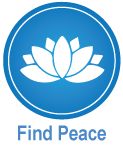 Live Well Dunedin Find Peace icon