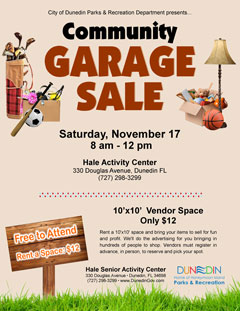 Community Garage Sale 2018