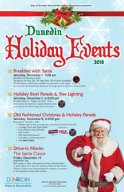 Holiday Events 2018 poster