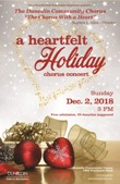 Chorus Heartfelt Holiday poster