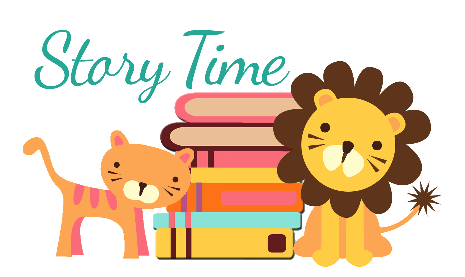 Storytime Time Lion Cat