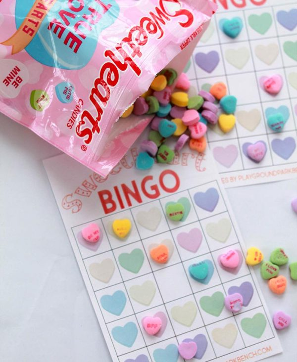 Candy Heart Bingo