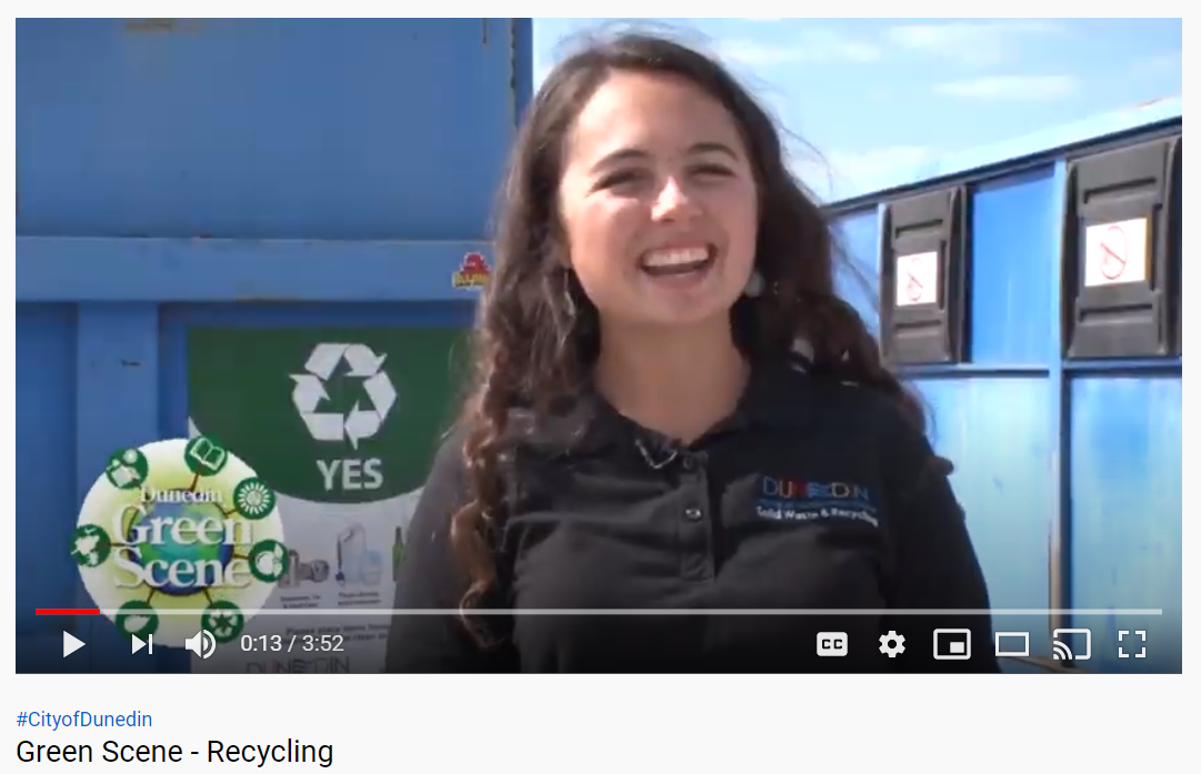 Recycling video snip