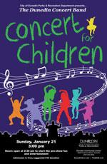Dunedin Concert Band poster