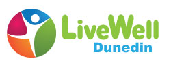 Live Well Dunedin logo