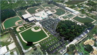 Player Development Complex aerial view