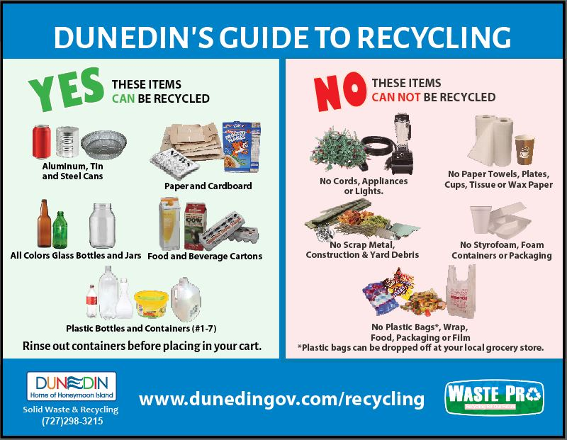 Dunedin's Guide to Recycling
