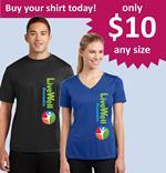 LiveWell Dunedin shirt sale